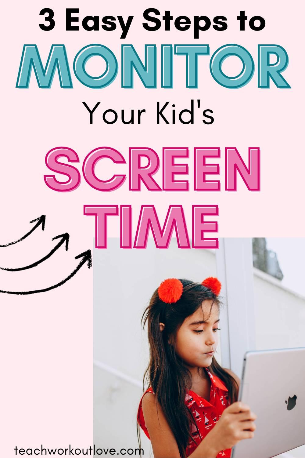 If you are looking for some strategies to help to monitor your kid's screen time in your home, then here are some things to consider.