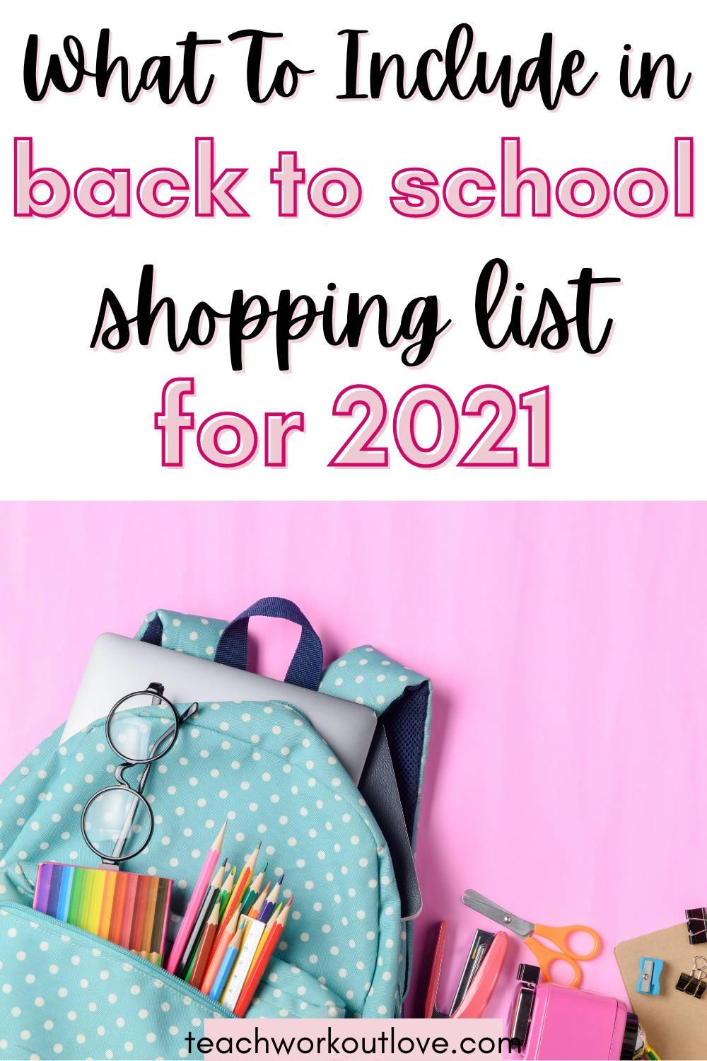 Having the right supplies can help prepare your child to tackle the new school year head-on and can help ensure that he or she has all the tools for academic success. If you're not sure what items you need to add to your back-to-school shopping list, cover all your bases with this quick guide.