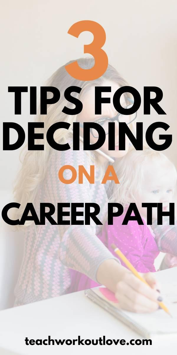 we have some tips to help you along the way so that you can narrow down your search and finding a career that's perfect for you.