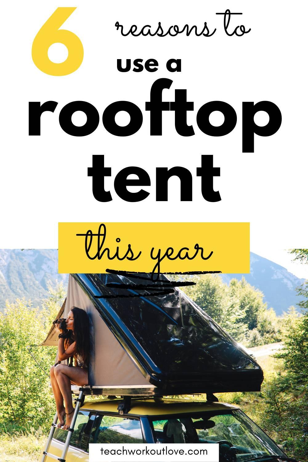 While an on-ground camping tent might be affected by common factors like climate, a rooftop tent is ideal as it is comfortable to mount, even in different weather conditions. This article will discuss six reasons why you might want to use rooftop tents.