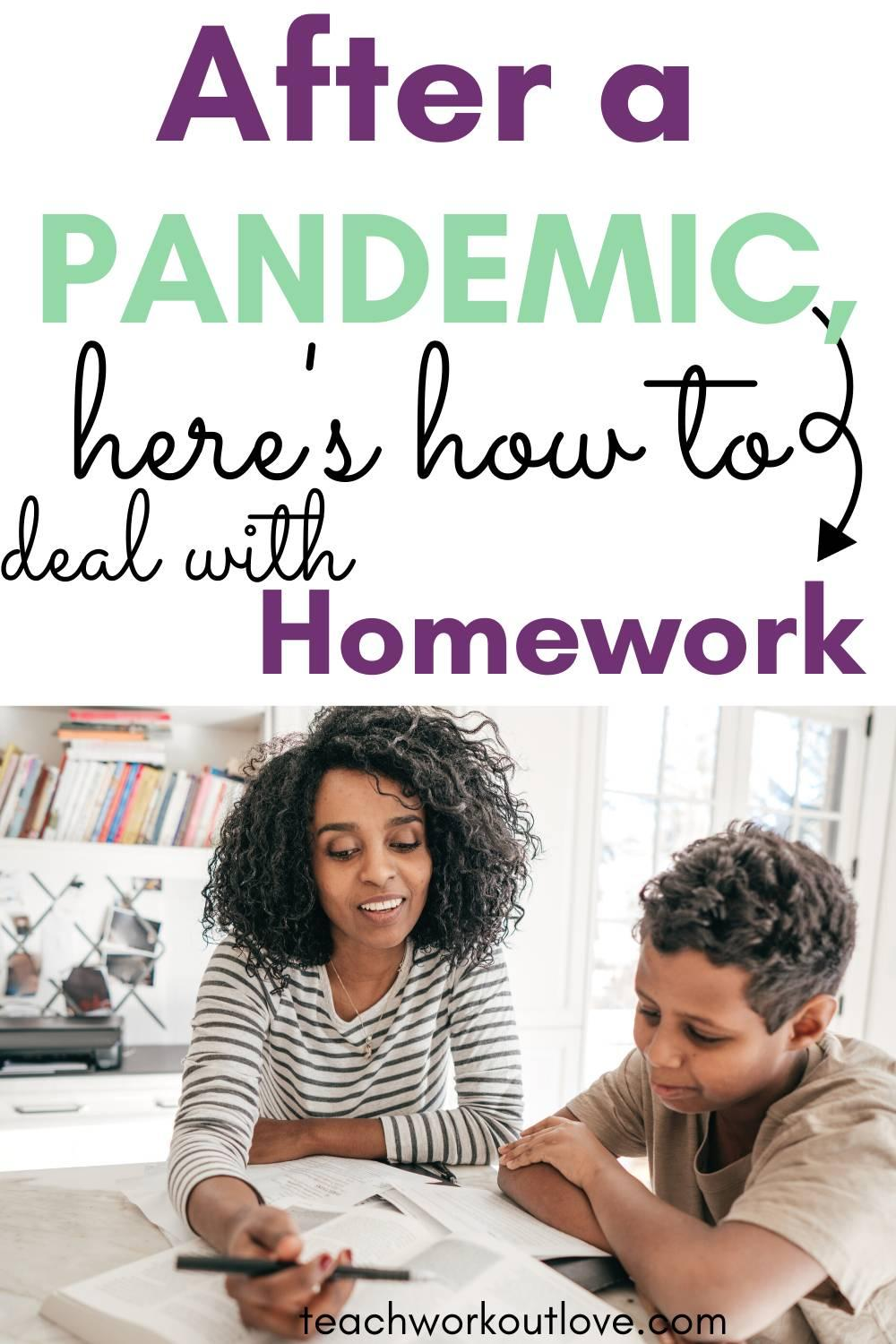 School is in session and homework has started. What's the best way for dealing with homework? We have the tips for you.