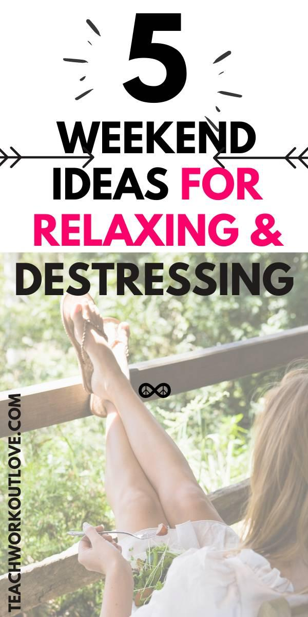 Whether you are packing for a camping trip or you are loading fishing gear into the car, you need to figure out how you can best relax. In this article, we're going to cover a few things that you could be doing to relax and destress this weekend.
