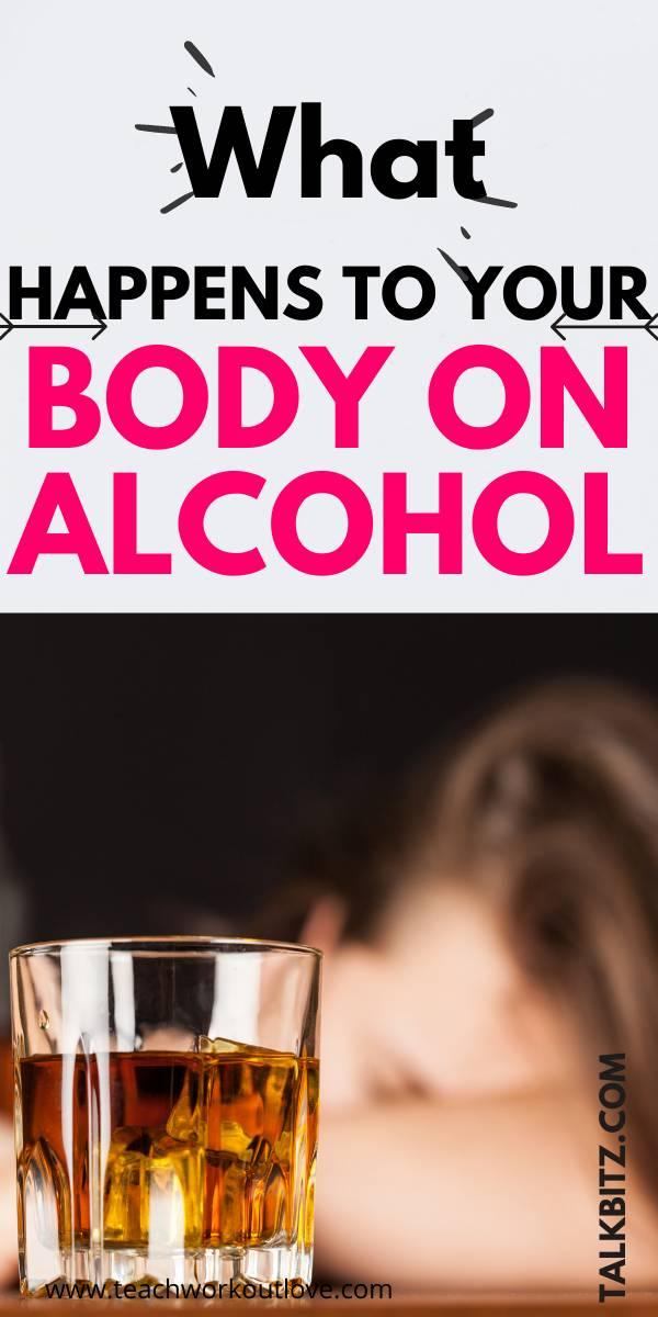 Alcohol is one of the most harmful drugs we take on a regular basis. So we want to take you on a journey through what happens to your body on alcohol.
