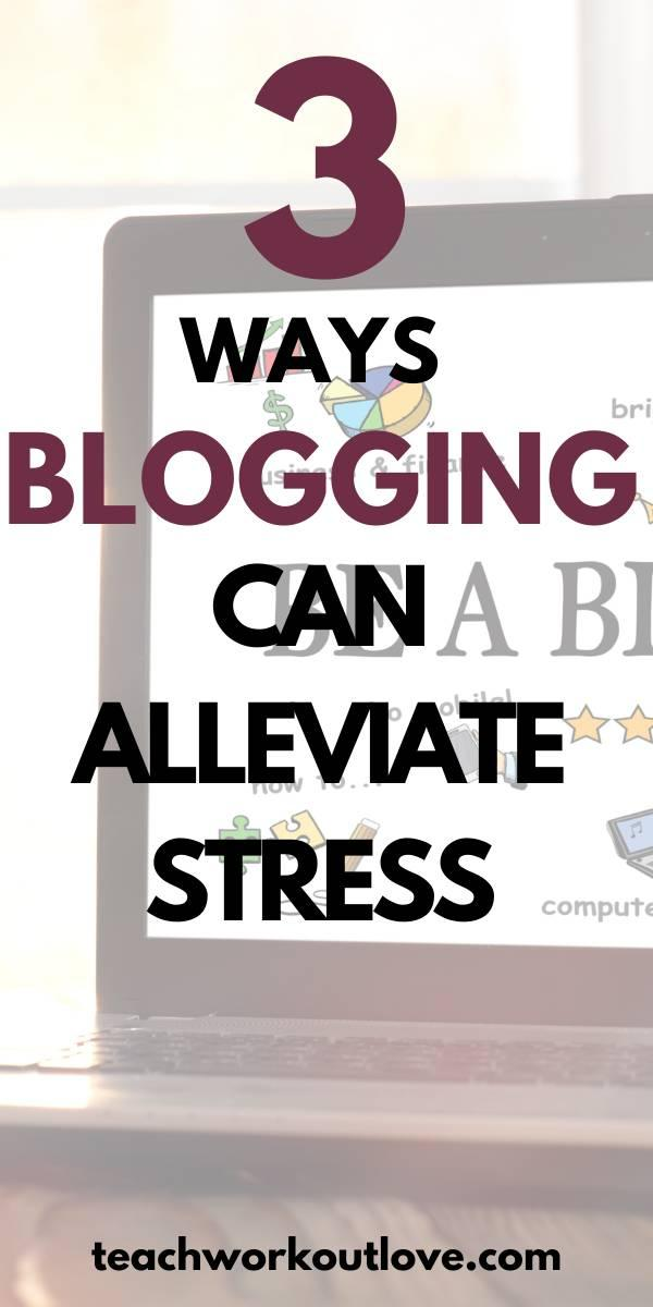 Whether you're looking for something new or just want to take your mind off of things for a while, look down below for some simple tips on how blogging can relieve your stress today!