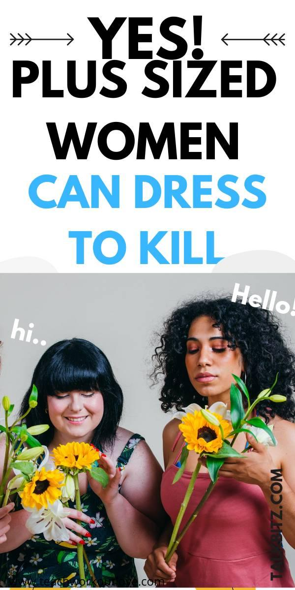Many articles will tell you to wear one item of clothing and not another, to alter how your boy looks, but that's not the point of this article. Instead, this is a collection of useful hints, tips and hacks to help you find clothes that you look good in for plus sized women!